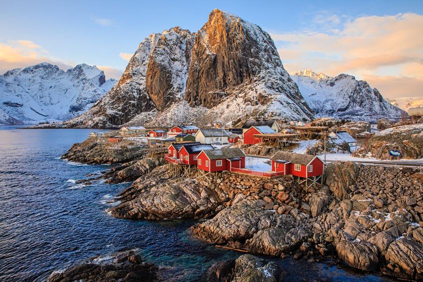 Reine fishing village, Lofoten, Norway