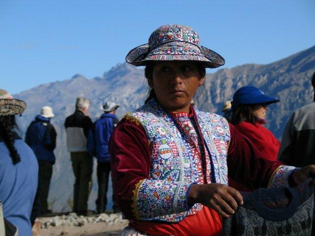 Woman-Colca-Canyon
