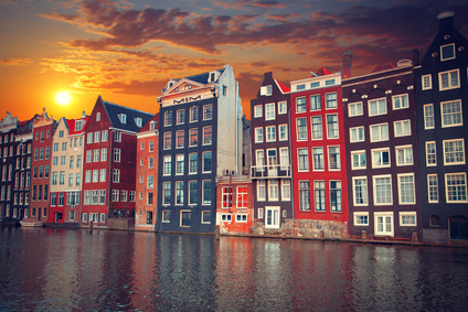 one of the most famous European city of Amsterdam. The capital o