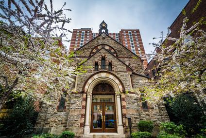 Calvert Abbey Church, in Mount Vernon, Baltimore, Maryland.