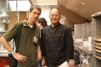 """Dave with the """"Iron Chef"""""""