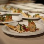 Delectables prepared by Greystone Restaurant at the CIA