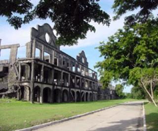 Mile-long Barracks at Corregidor