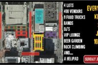 New Flea Market in Downtown Los Angeles, Food, Flare Fun!