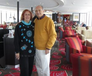 3. phyllis and arvin in main lounge