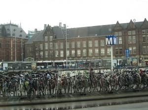5. bicycles in amsterdam