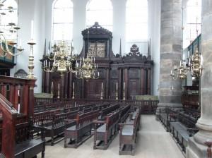 6. Portuguese synagogue in Amsterdam