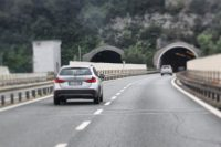 Driving the Italian Riviera Autostrada