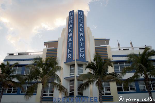 The Breakwater Hotel, Miami, FL @PennySadler 2013