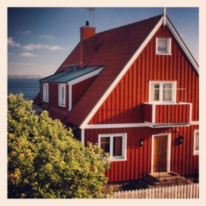 The charming town of Lysekil along Sweden's western archipelago