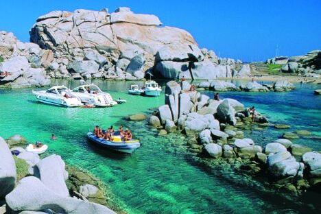 Costa smeralda island Hopping