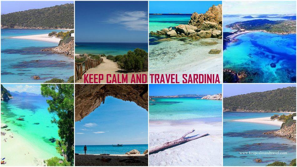 Beautiful Sardinia Beaches keep calm and travel