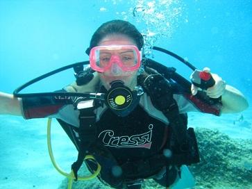 Scuba Diving in Cala Marioulu Sardinia