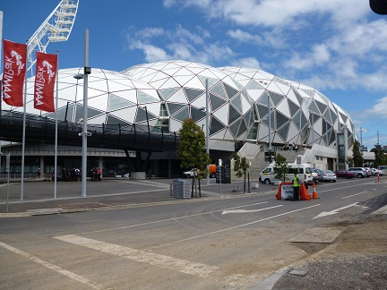 AAMI Park in the world sporting capital of Melbourne Australia