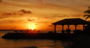 Harbour Village sunset