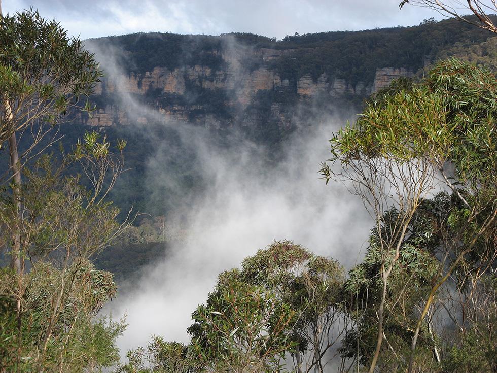 Blue Mountains of NSW, Australia