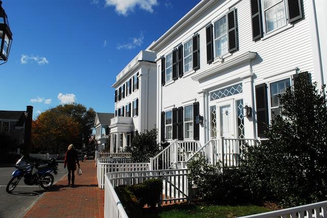 One of many captain's homes in Edgartown, Martha's Vineyard. (Photo by Paul E. Kandarian)