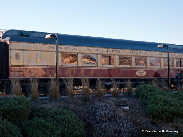 """Napa Valley Wine Train at the Napa McKinstry Street Station"""