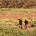 Finke River after heavy rain!