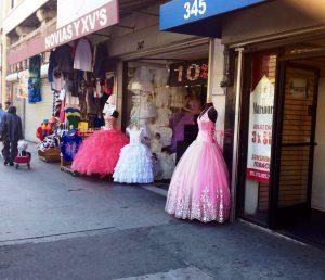 Quincinera Dresses on Broadway