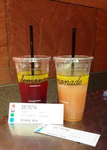 Lemonade and Moca Tickets