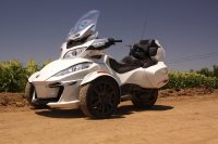 Testing out the Can Am Spyder RT-S on California's Open Roads