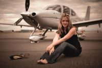 Amelia Rose Earhart Poised to set Record as Youngest Woman Ever to Circumnavigate the Globe in a Single Engine Plane