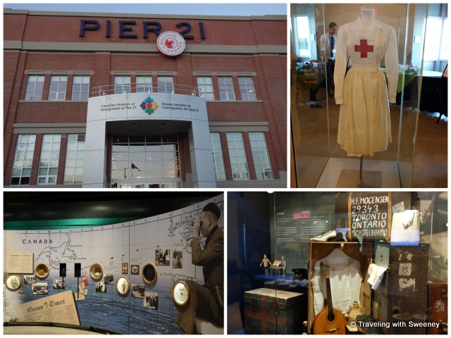 Canadian National Immigration Museum at Pier 21