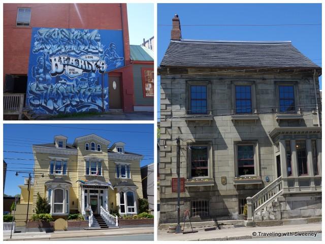 Clockwise from top left: Bearly's, Henry House, Waverley Inn