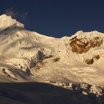 Cordillera Blanca, high in the Peruvian Andes