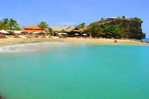 Beach at Sandals LaSource in Grenada