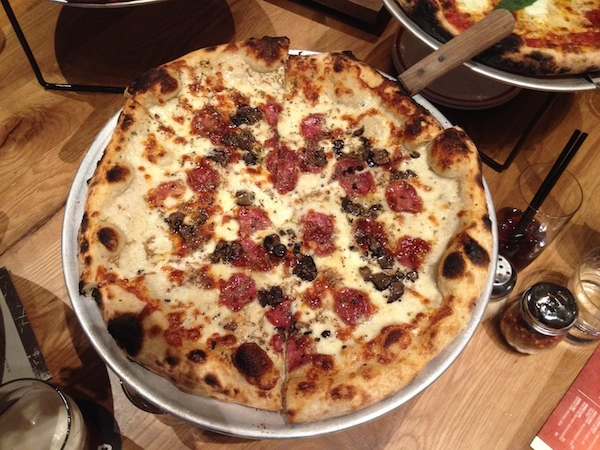The truffle pizza at Five50—don't touch, it's mine!