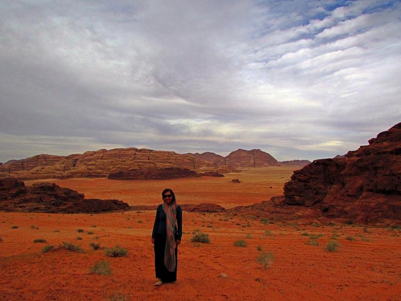 Work Exchange in Jordan's Wadi Rum Desert