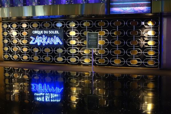 Zarkana sign DTC