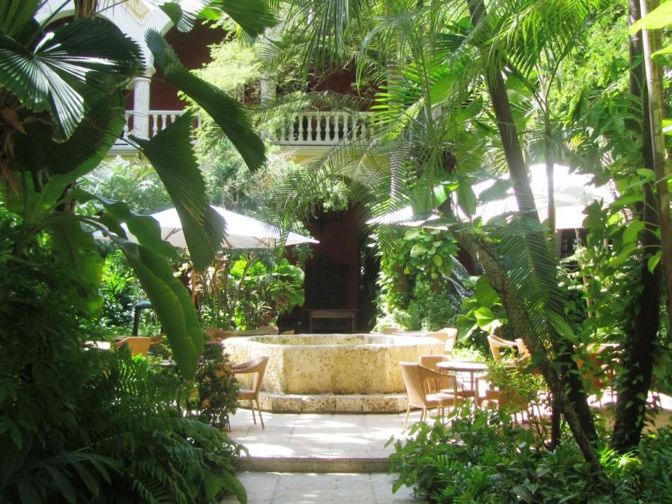 Gardens at the Sofitel Legend Santa Clara
