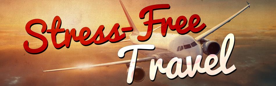 stress free travel banner