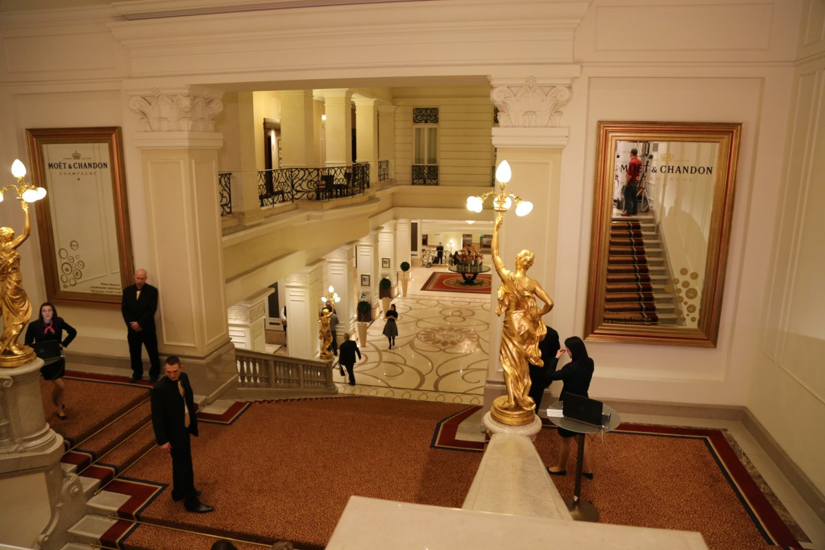 The grand and glorious 5-star Corinthia Hotel in Budapest