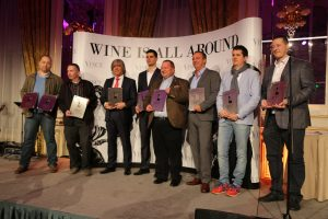 The proud winners of the annual VinCE wine awards