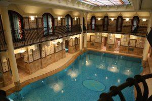 The luxurious spa at the Corinthia