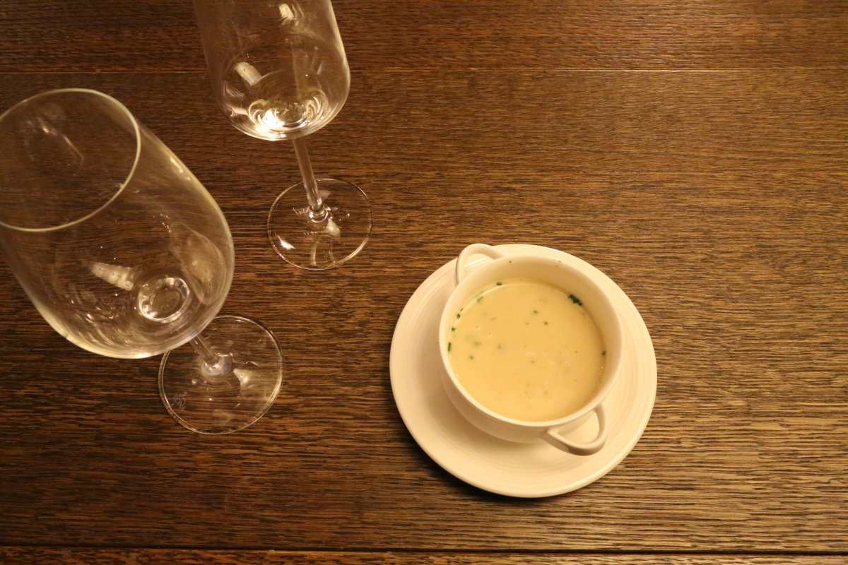 Soup ES Restaurant Kempinski Hotel