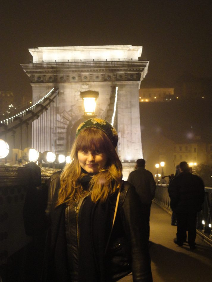 Staying in hostels in Budapest allowed me to splurge at the Christmas market.
