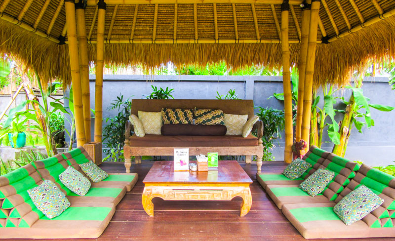 Inviting spaces at the Cashew Tree