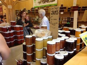 St Jacob's Farmers Market - homemade jams, jellies and pickles for sale