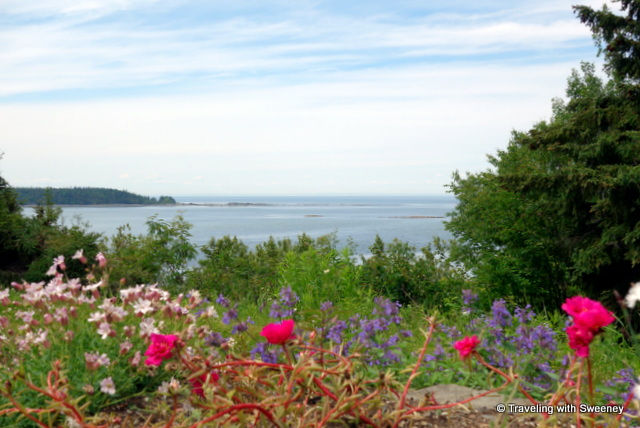 The beauty of maritime Québec along the St. Lawrence River at Reford Gardens in Grand-Métis