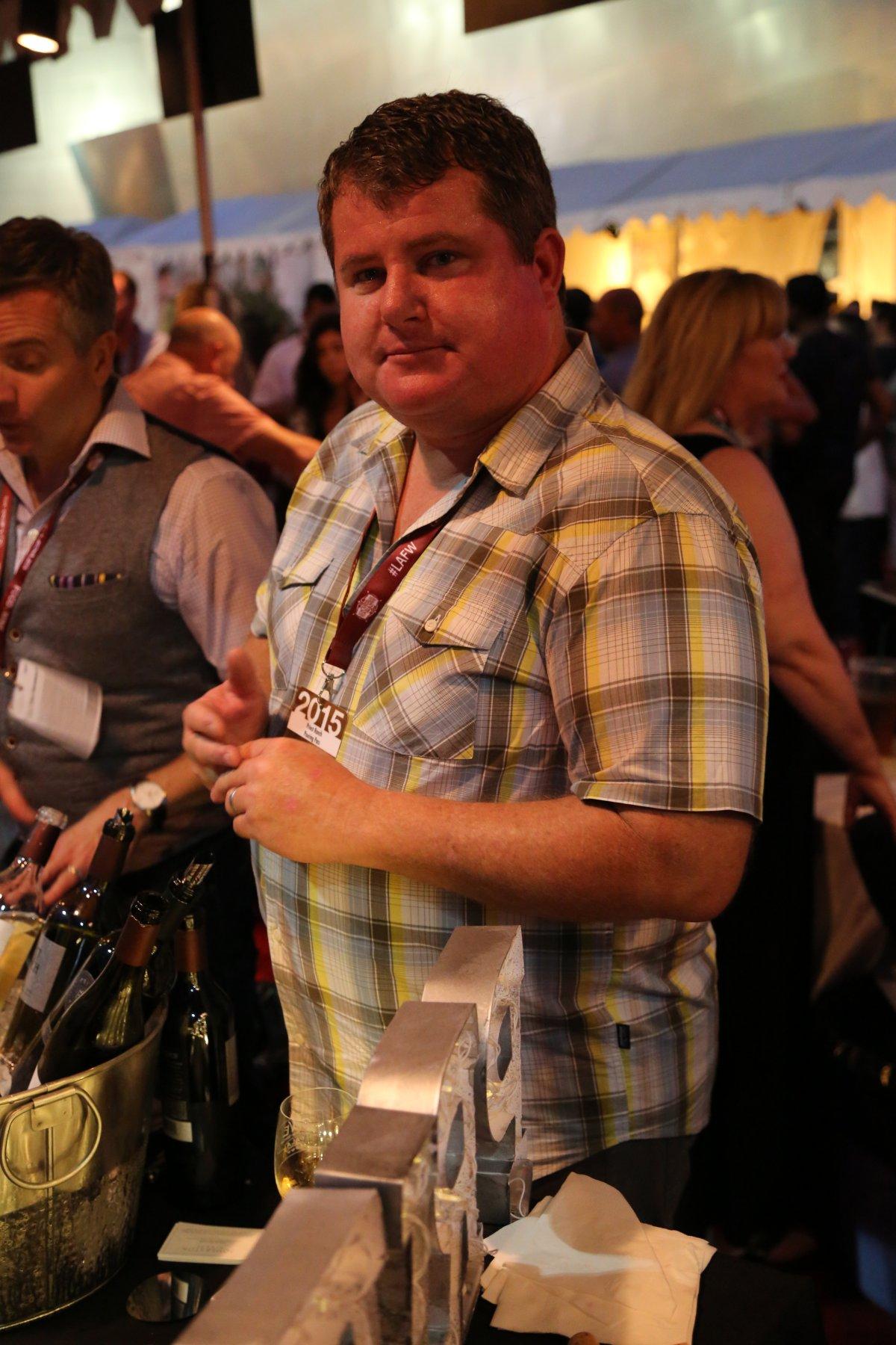 Craig Becker, winemaker Priest Ranch
