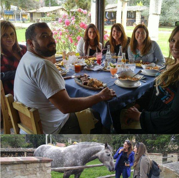 Good #friends and fantastic #lunch #farm #fresh #food #elportico #colombiaismagicalrealism #aviancateconecta #Bogota