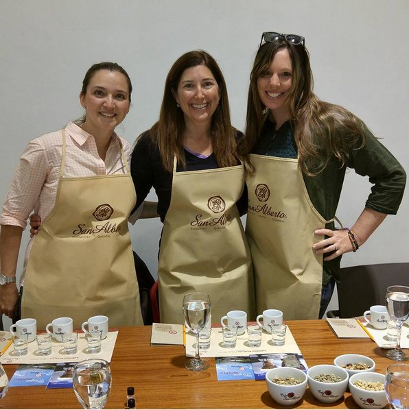 Yes I did so #drink #tasty #Colombian #coffee. okay I tasted it. Everyone #loved the #sanalberto #specialty! I just don't drink coffee but learning about the aromas, flavors and process was super scientifically interesting! #colombiaismagicalrealism #aviancateconecta