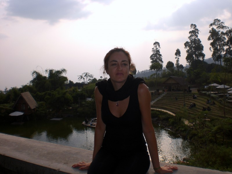 Dining in Dusun Bambu and taking in the gorgeous surroundings