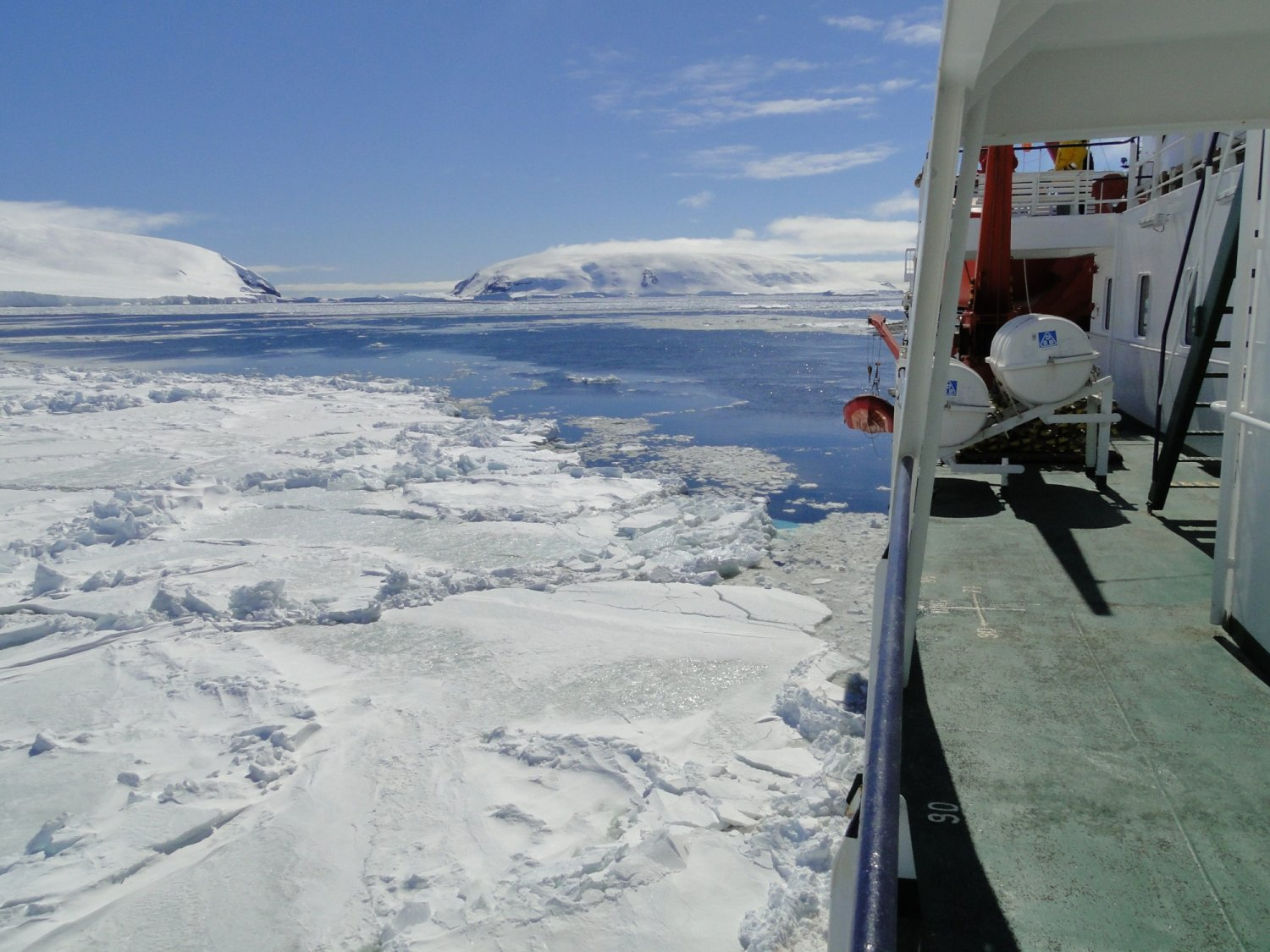 If the ship can't sail further due to pack-ice Credit: © Oceanwide Expeditions, Hans Murre