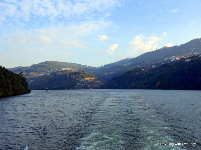 Sailing on the Douro River in northern Portugal on the Viking Hemming